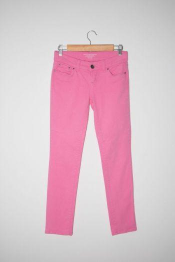 Jeans color rosado