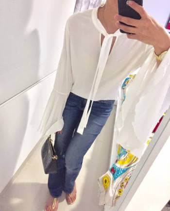 Blusa Blanca Basement<3