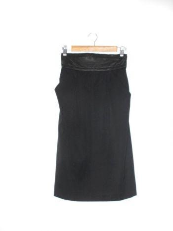 Falda a la cintura lisa