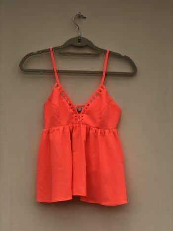 Blusa  casual naranja