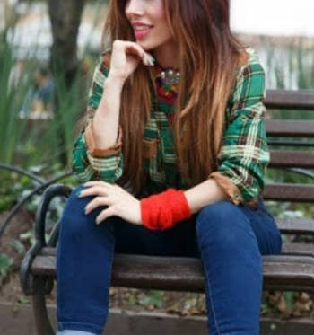 Camisa leñador ,verde