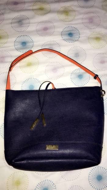 Bolso azul turqui
