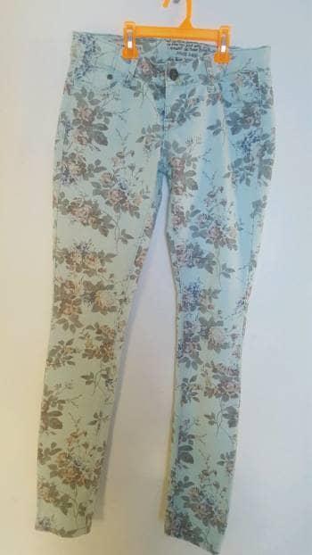 Pantalon en flores