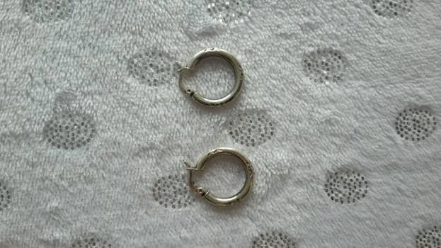 Candongas de plata