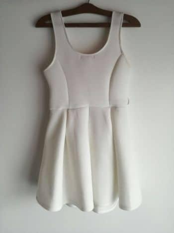 Vestido Blanco Corto.
