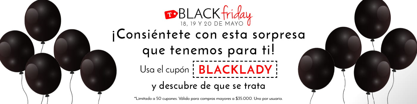 Cupón Black Lady