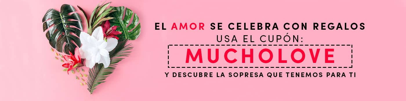 cupón mucho love
